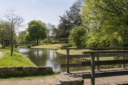 Het Amaliapark gelegen naast de Boerderij